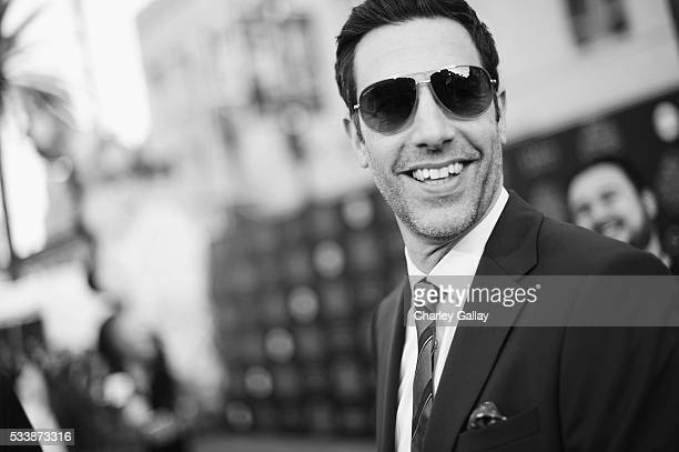 Actor Sacha Baron Cohen attends Disney's 'Alice Through the Looking Glass' premiere with the cast of the film which included Johnny Depp Anne...