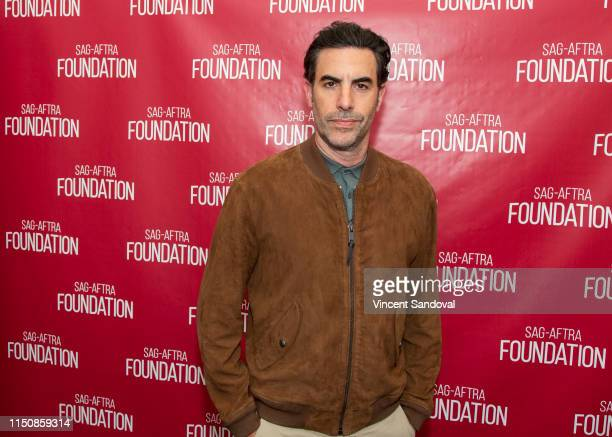 """Actor Sacha Baron Cohen attends SAG-AFTRA Foundation Conversations with """"Who Is America"""" at SAG-AFTRA Foundation Screening Room on May 21, 2019 in..."""