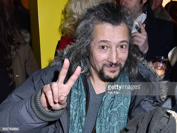 Actor Sacha BourdoÊattends the 'Polish Hope' Short Movie Screening Party at Cinema Grand Action on January 19 2016 in Paris France