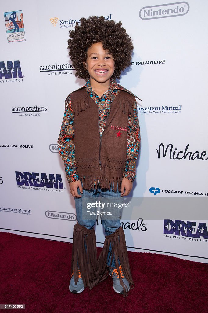 Actor Sage Correa attends Starlight's Dream Halloween 2016 on October 22, 2016 in Los Angeles, California.