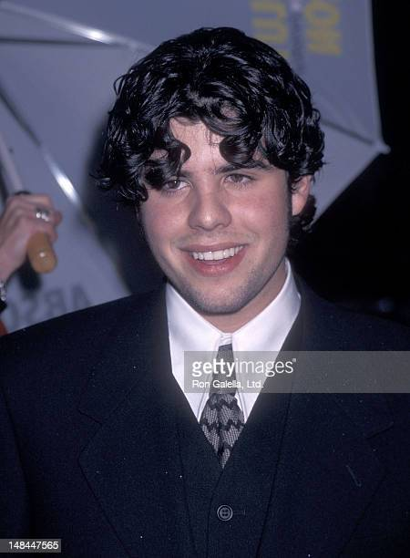 Actor Sage Stallone attends the Daylight Hollywood Premiere on December 5 1996 at the Mann's Chinese Theatre in Hollywood California