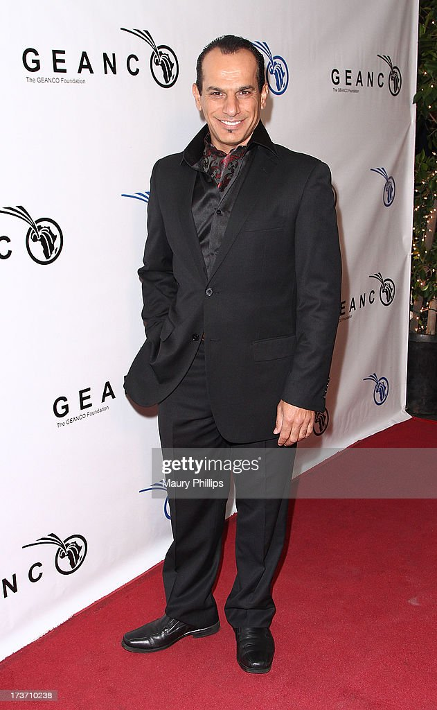 Actor Said Faraj arrives at The GEANCO Foundation's 'Impact Africa' Fundraiser at Bootsy Bellows on July 16, 2013 in West Hollywood, California.