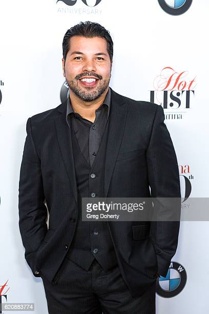 Actor Sal Velez Jr arrives for the Latina Magazine's 20th Anniversary Event Celebrating 'Hollywood Hot List' Honorees at STK Los Angeles on November...