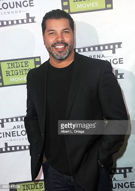 Actor Sal Velez Jr arrives for the Screening Of 'The Boatman' held at Arena Cinelounge on December 16 2016 in Hollywood California