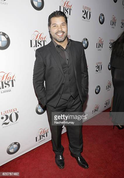 Actor Sal Velez Jr attends Latina's 20th Anniversary celebrating The Hollywood Hot List Honorees at STK on November 2 2016 in Los Angeles California