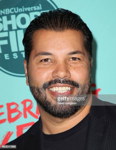 Actor Sal Velez Jr attends the 12th Annual NBCUniversal Short Film Festival finale screening at the Directors Guild of America on October 18 2017 in...