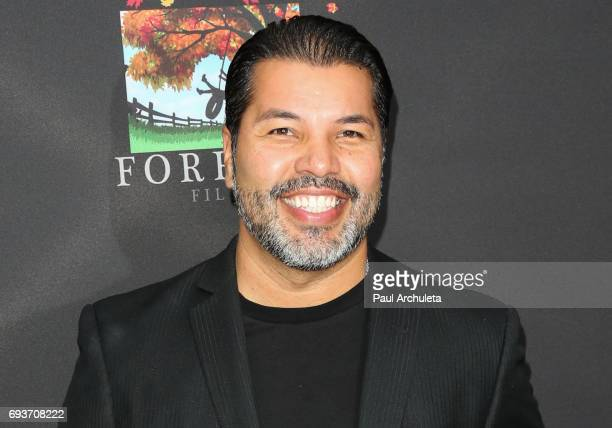 Actor Sal Velez Jr attends the premiere of 'Pray For Rain' at ArcLight Hollywood on June 7 2017 in Hollywood California