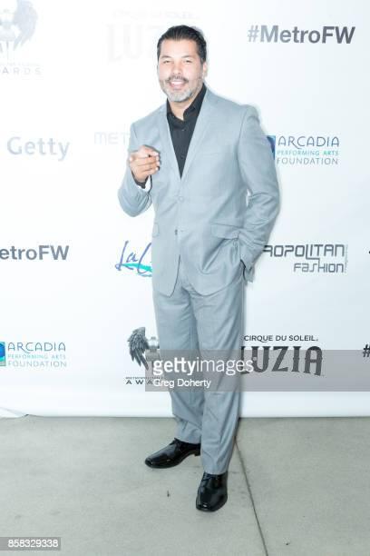 Actor Sal Velez Jrattends the Metropolitan Fashion Week Closing Night Gala at Arcadia Performing Arts Center on October 5 2017 in Arcadia California