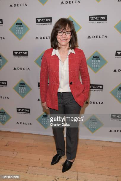 Actor Sally Field at the screening of 'Places in the Heart' during day 4 of the 2018 TCM Classic Film Festival on April 29 2018 in Hollywood...
