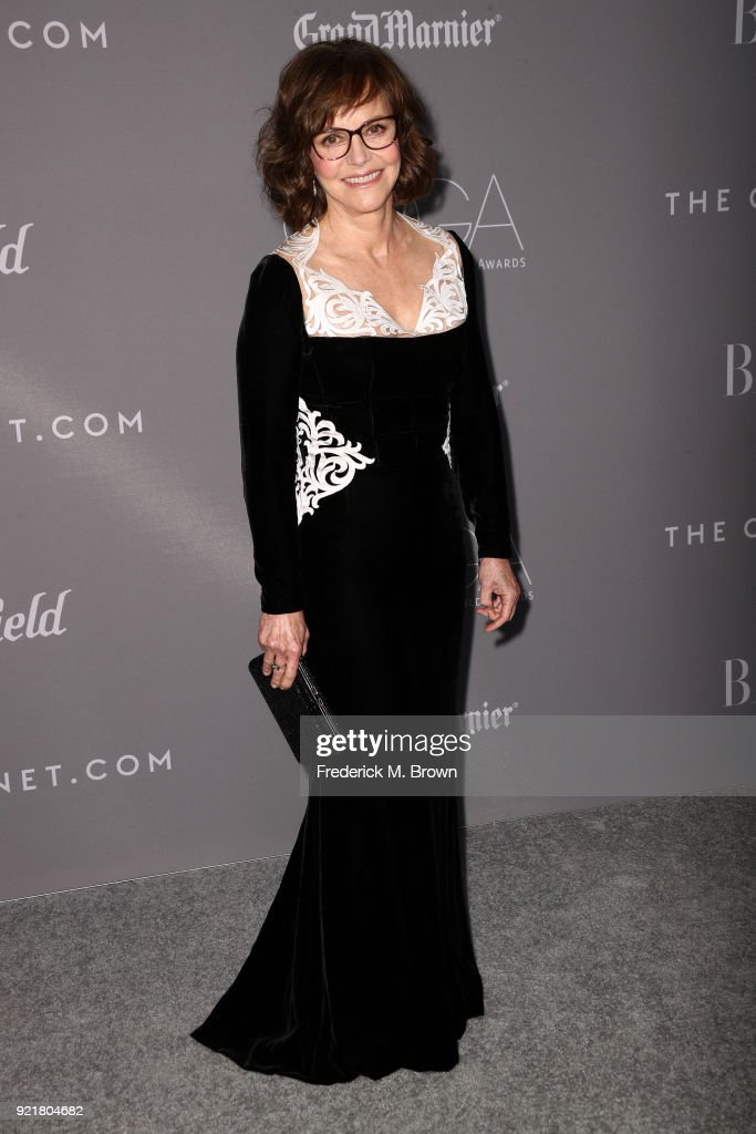 Actor Sally Field attends the Costume Designers Guild Awards at The Beverly Hilton Hotel on February 20, 2018 in Beverly Hills, California.