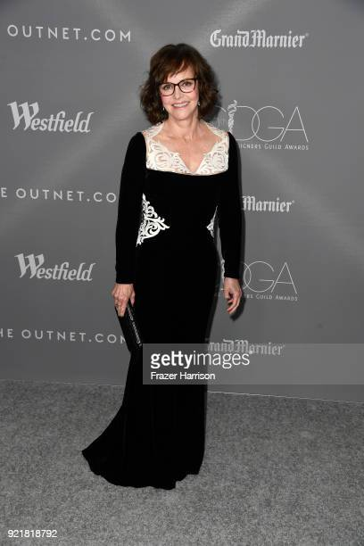 Actor Sally Field attends the Costume Designers Guild Awards at The Beverly Hilton Hotel on February 20 2018 in Beverly Hills California