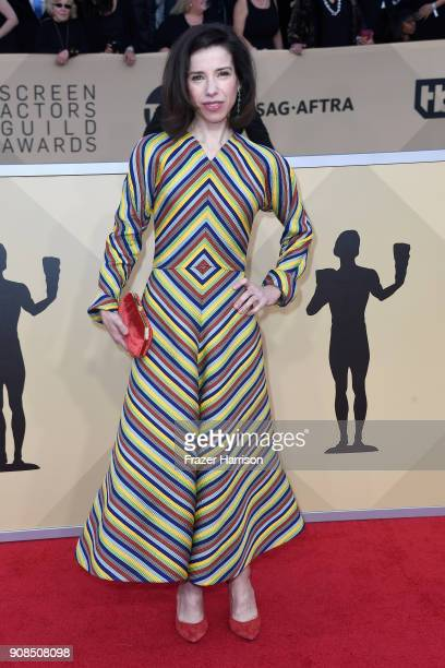 Actor Sally Hawkins attends the 24th Annual Screen Actors Guild Awards at The Shrine Auditorium on January 21 2018 in Los Angeles California