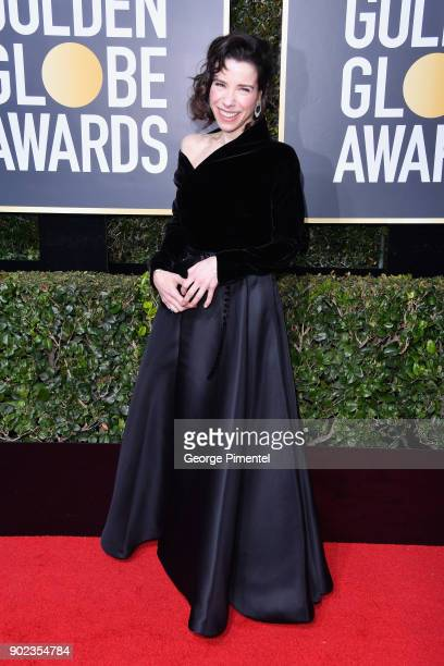 Actor Sally Hawkins attends The 75th Annual Golden Globe Awards at The Beverly Hilton Hotel on January 7 2018 in Beverly Hills California