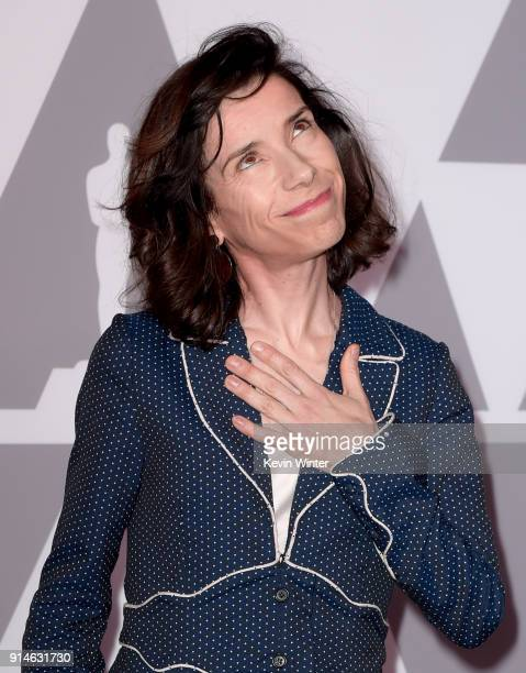 Actor Sally Hawkins attends the 90th Annual Academy Awards Nominee Luncheon at The Beverly Hilton Hotel on February 5 2018 in Beverly Hills California