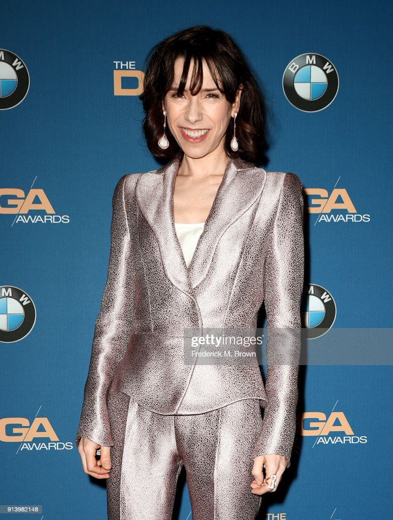 Actor Sally Hawkins poses in the press room during the 70th Annual Directors Guild Of America Awards at The Beverly Hilton Hotel on February 3, 2018 in Beverly Hills, California.
