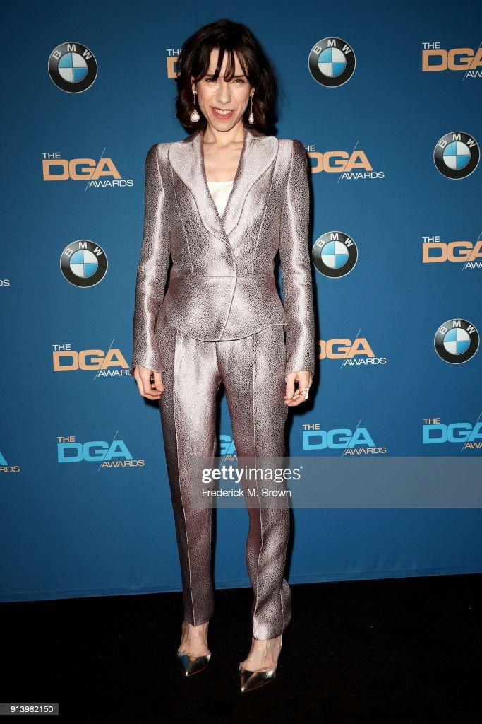 70th Annual Directors Guild Of America Awards - Press Room : News Photo