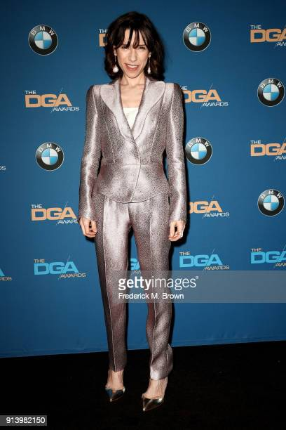 Actor Sally Hawkins poses in the press room during the 70th Annual Directors Guild Of America Awards at The Beverly Hilton Hotel on February 3 2018...