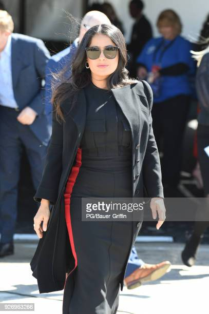 Actor Salma Hayek attends the 2018 Film Independent Spirit Awards on March 03 2018 in Los Angeles California