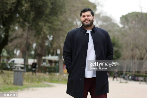 """Actor Salvatore Esposito attends the photocall for L'Eroe"""" at Casa del Cinema on March 05, 2019 in Rome, Italy."""