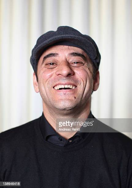 Actor Salvatore Striano attends 'Cesare deve Morire' Portrait Session during day four of the 62nd Berlin International Film Festival on February 12...