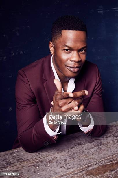 Actor Sam Adegoke of CW's 'Dynasty' poses for a portrait during the 2017 Summer Television Critics Association Press Tour at The Beverly Hilton Hotel...