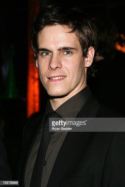 Actor Sam Archer attends the BAM 2007 Spring Gala celebrating the premiere of Edward Scissorhands on March 14 2007 in New York City