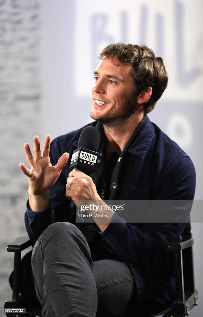 Actor Sam Caflin from the cast of 'My Cousin Rachel' speaking at the Build LDN event at AOL London on June 8, 2017 in London, England.