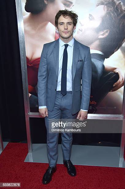 Actor Sam Claflin attends 'Me Before You' World Premiere at AMC Loews Lincoln Square 13 theater on May 23 2016 in New York City