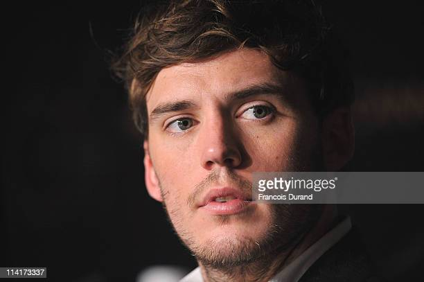 Actor Sam Claflin attends the 'Pirates of the Caribbean On Stranger Tides' press conference at the Palais des Festivals during the 64th Cannes Film...