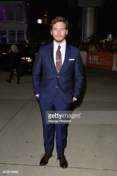 Actor Sam Claflin attends The Riot Club premiere during the 2014 Toronto International Film Festival at Roy Thomson Hall on September 6 2014 in...