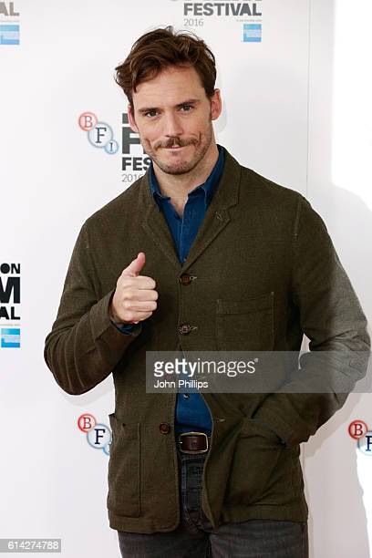 Actor Sam Claflin attends 'Their Finest' photocall during the 60th BFI London Film Festival at The Mayfair Hotel on October 13 2016 in London England