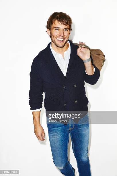 Actor Sam Claflin is photographed for Men's Health Magazine on July 15 2015 in New York City