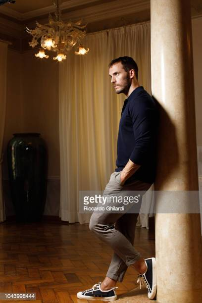 Actor Sam Claflin is photographed for Self Assignment on September 2018 in Venice Italy