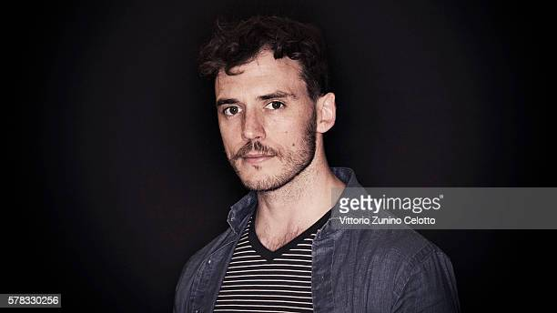 Actor Sam Claflin poses on July 21 2016 in Giffoni Valle Piana Italy