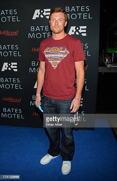 Actor Sam Daly attends AE's Bates Motel party during ComicCon International 2013 at Gang Kitchen on July 20 2013 in San Diego California