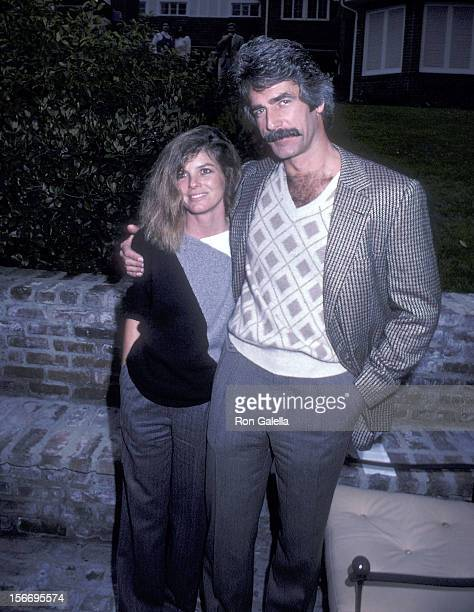 Actor Sam Elliott and actress Katharine Ross attend the Party to Celebrate the Signing of the California Bilateral Nuclear Weapons Freeze Initiative...