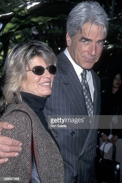 Actor Sam Elliott and actress Katharine Ross attend the Sixth Annual Broadcast Film Critics Association Awards on January 22 2001 at the Beverly...