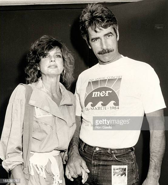 Actor Sam Elliott and actress Katharine Ross attending Second Annual Malibu Emergency Room Concert on March 18 1984 at the Firestone Firehouse in...