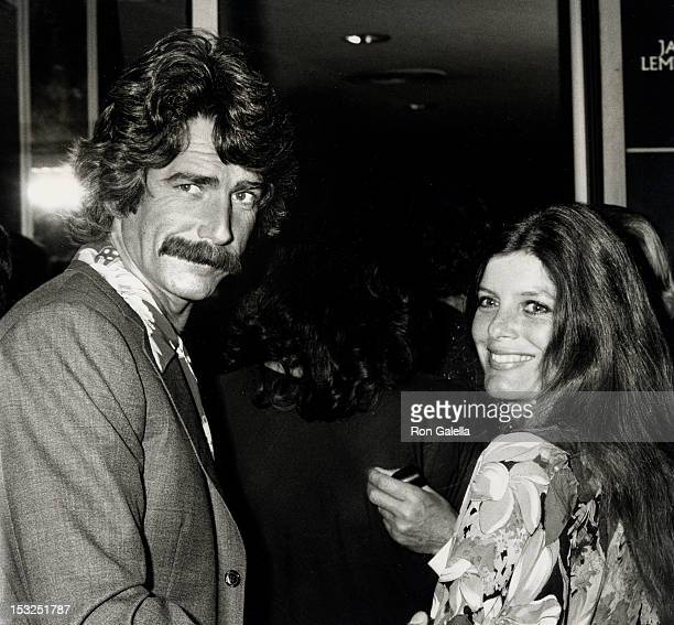 "Actor Sam Elliott and actress Katharine Ross attending the premiere of ""The China Syndrome"" on March 6, 1979 at Cinerama Dome Theater in Universal,..."