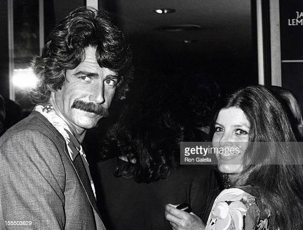 Actor Sam Elliott and actress Katharine Ross attending the premiere of The China Syndrome on March 6 1979 at Cinerama Dome Theater in Universal...