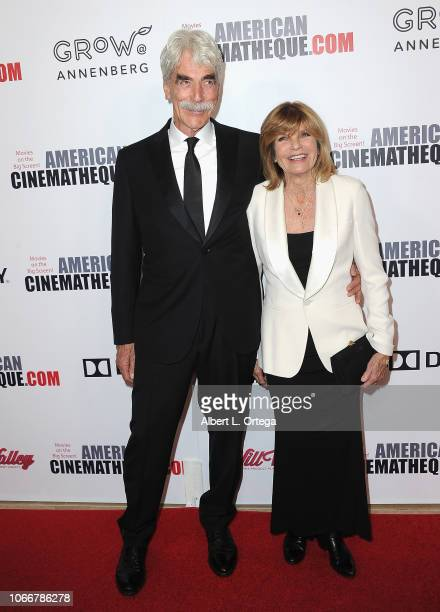 Actor Sam Elliott and actress/wife Katharine Ross arrive for the 32nd American Cinematheque Award Presentation Honoring Bradley Cooper held at The...