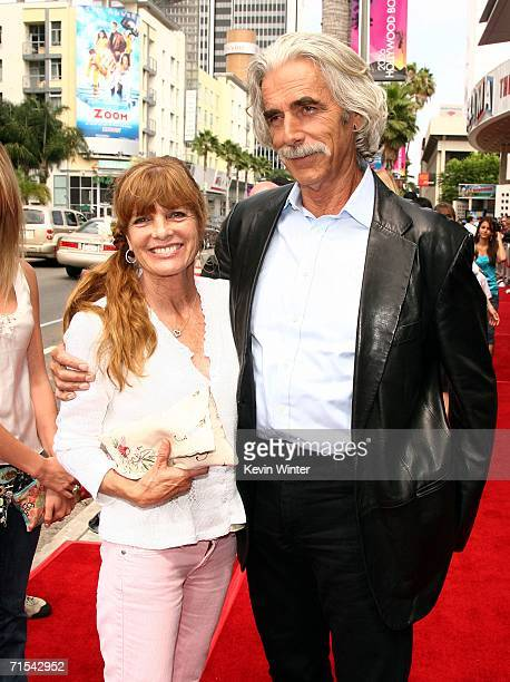 Actor Sam Elliott and his wife actress Katherine Ross arrive at the premiere of Paramount Pictures' Barnyard at the Cinerama Dome Theater on July 30...
