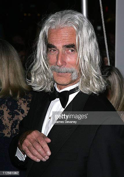 Actor Sam Elliott arrives at the New Line Cinema's 40th Anniversary Gala at Fredrick P Rose Hall in New York City on October 5th 2007