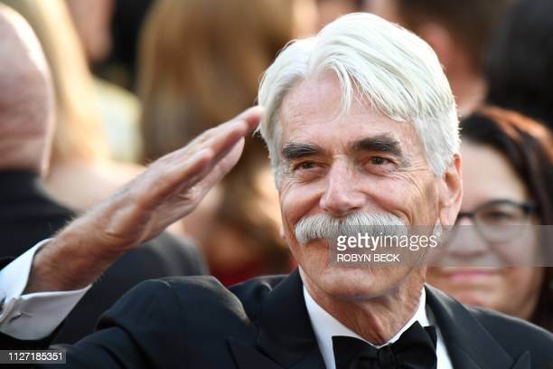 Actor Sam Elliott arrives for the 91st Annual Academy Awards at the Dolby Theatre in Hollywood, California on February 24, 2019.