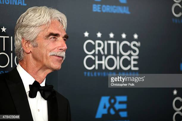 Actor Sam Elliott attends the 5th Annual Critics' Choice Television Awards at The Beverly Hilton Hotel on May 31 2015 in Beverly Hills California