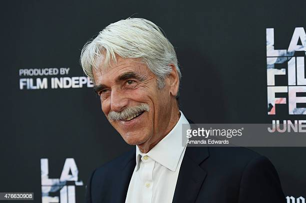 """Actor Sam Elliott attends the opening night premiere of """"Grandma"""" during the 2015 Los Angeles Film Festival at Regal Cinemas L.A. Live on June 10,..."""