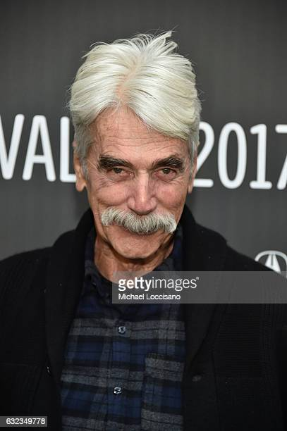 Actor Sam Elliott attends the The Hero premiere on day 3 of the 2017 Sundance Film Festival at Library Center Theater on January 21 2017 in Park City...
