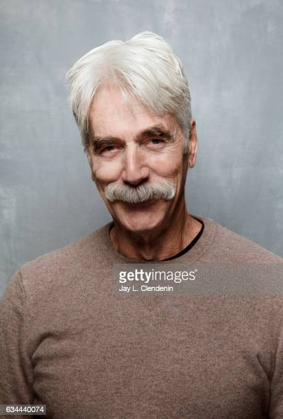 Actor Sam Elliott from the film The Hero is photographed at the 2017 Sundance Film Festival for Los Angeles Times on January 22 2017 in Park City...
