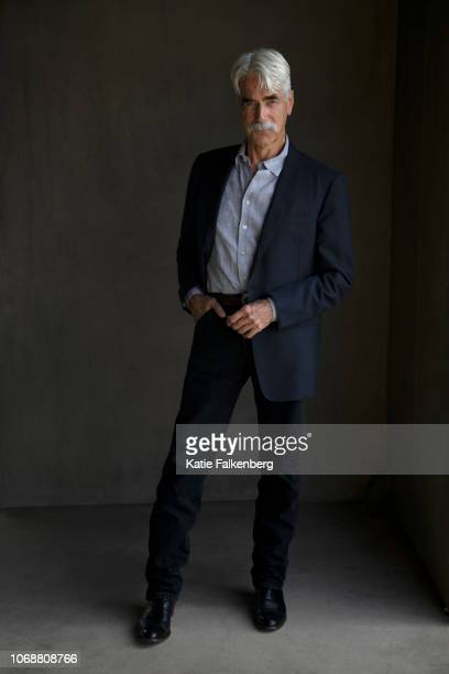 Actor Sam Elliott is photographed for Los Angeles Times on October 22 2018 in Malibu California PUBLISHED IMAGE CREDIT MUST READ Katie Falkenberg/Los...