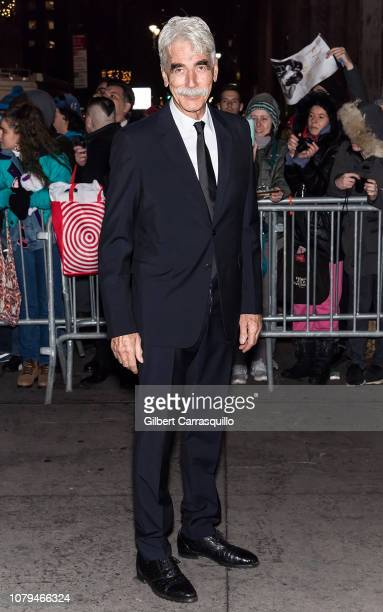 Actor Sam Elliott is seen arriving to The National Board of Review Annual Awards Gala at Cipriani 42nd Street on January 8, 2019 in New York City.